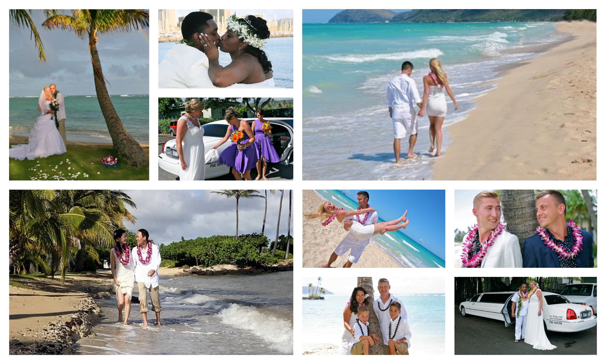 Hawaii Weddings & Vow Renewals