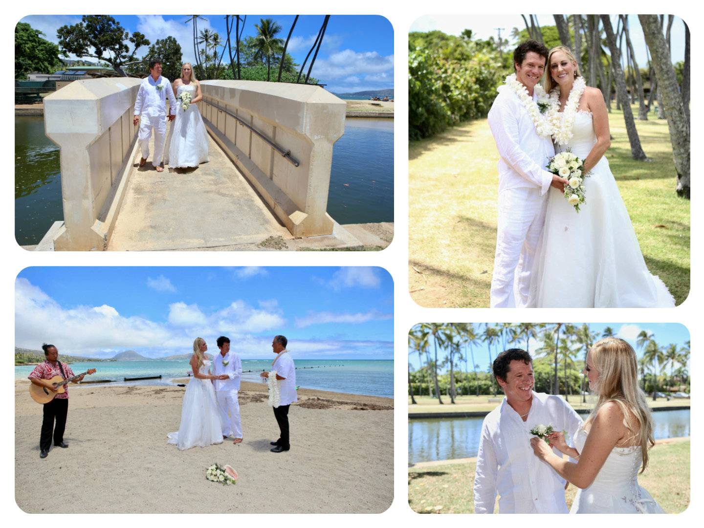Hawaii weddings vow renewals stories from our professional planners it was memorable and stress free hawaii wedding ceremony for rachel and benjamin on august 18 2018 on the sandy dunes of waialae beach park junglespirit Gallery