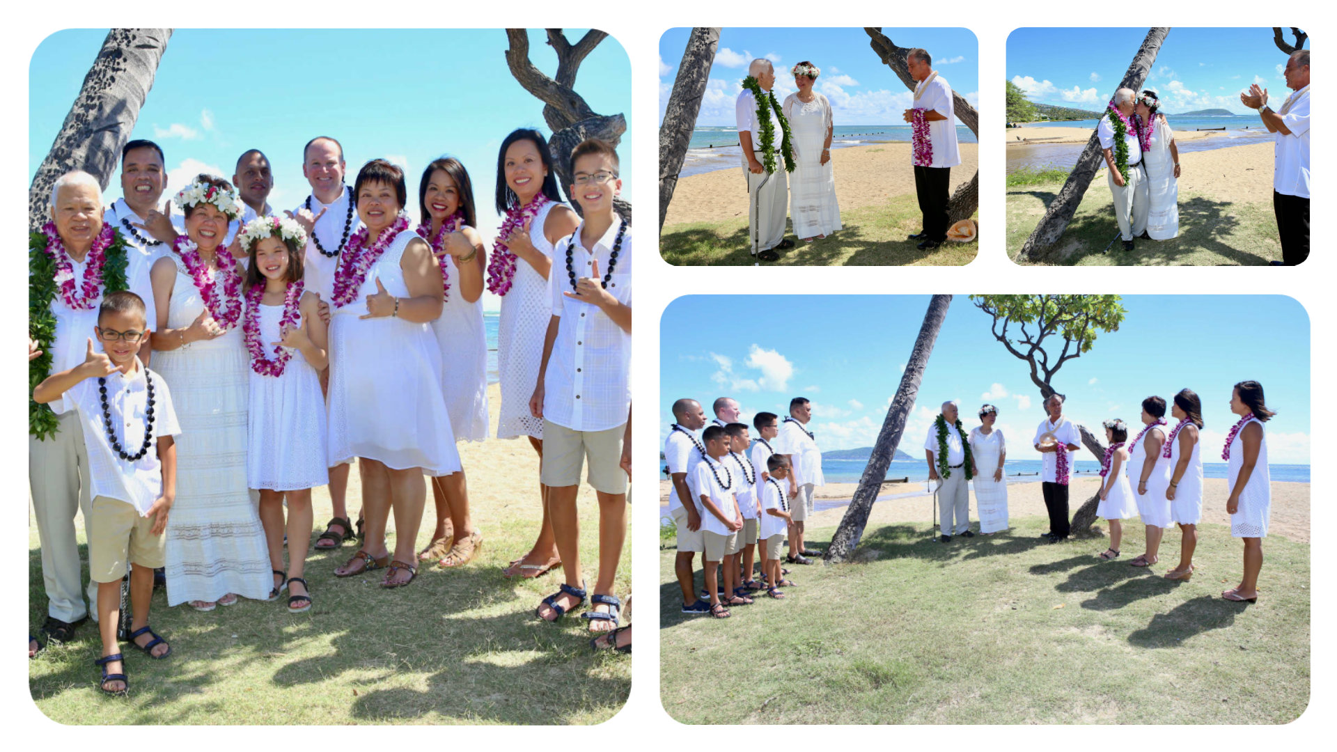 2eb64a8fbb Hawaii Vow Renewal Ceremony, A Golden Anniversary Gift