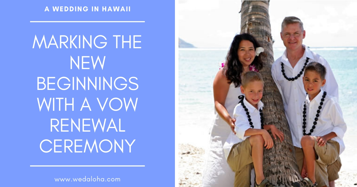 Vow Renewal Hawaii