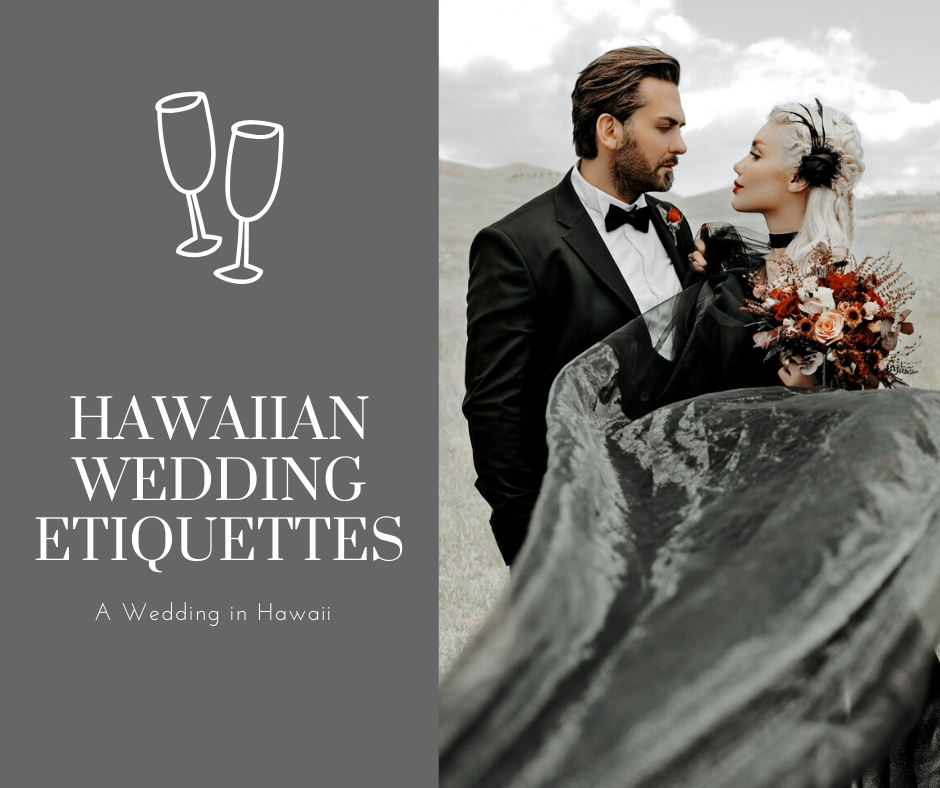 hawaiian wedding etiquettes