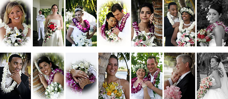 Hawaii Wedding Bridal Flowers
